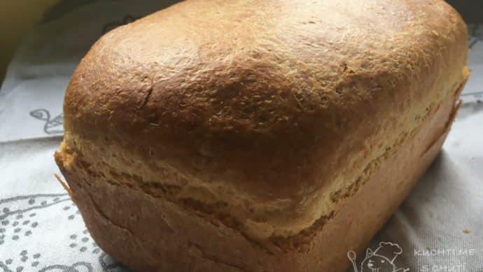 Domácí toustový chleba - finální nádhera