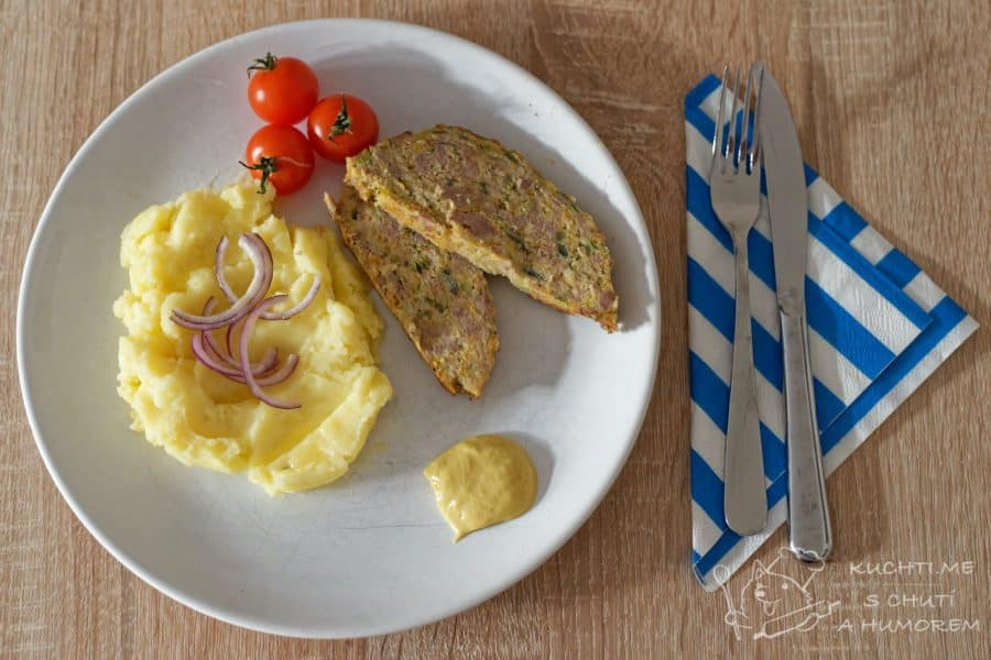 Hlavní fotka k receptu Sekaná se zeleninou
