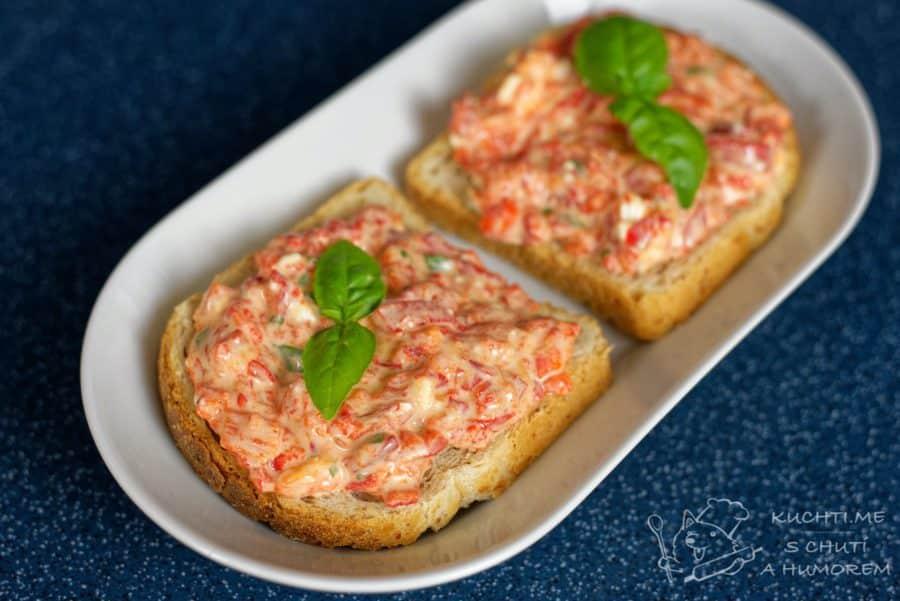 Hlavní fotka k receptu Pomazánka z pečených červených paprik