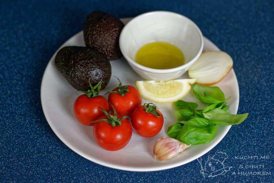 Guacamole - ingredience