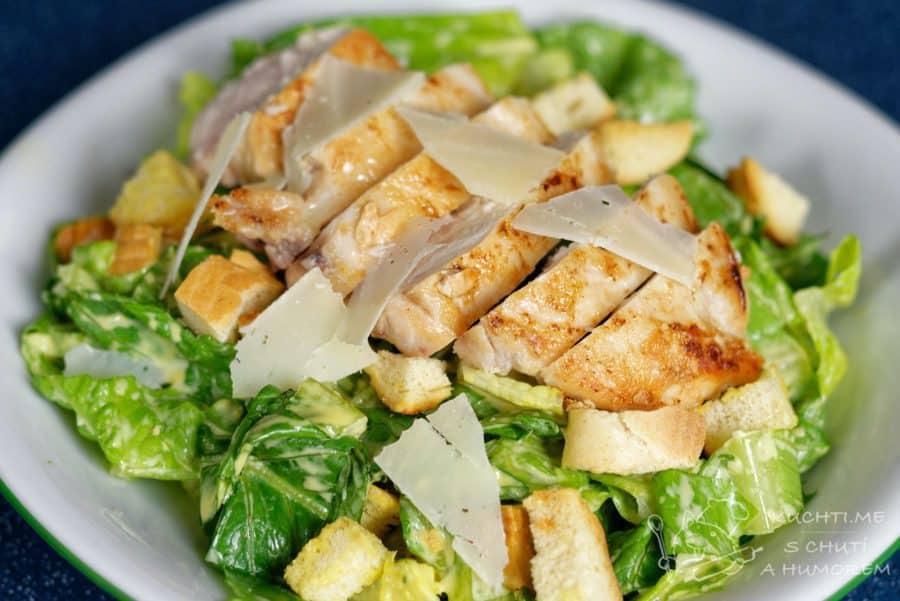 Hlavní fotka k receptu Klasický caesar salát