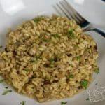 Hebké a voňavé houbové rizoto