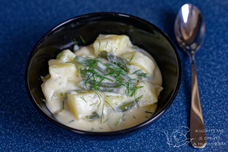 Hlavní fotka k receptu Polévka ze zelených fazolek