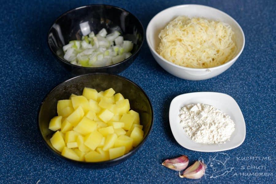 Klasická zelňačka - ingredience