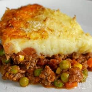 Pastýřský koláč neboli shepherd's pie