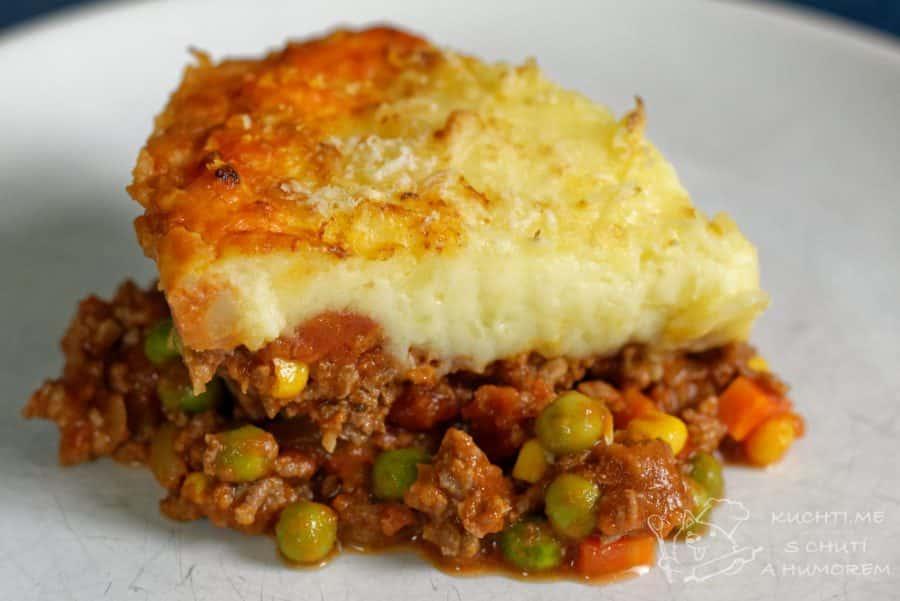 Hlavní fotka k receptu Pastýřský koláč neboli shepherd's pie