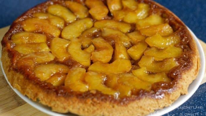 Obrácený jablečný koláč - karamelová dokonalost