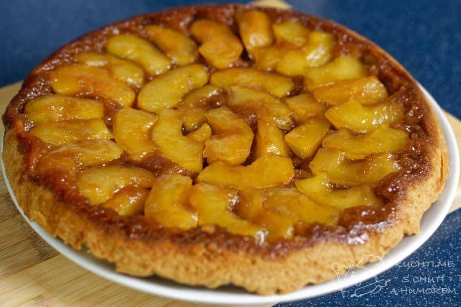Hlavní fotka k receptu Obrácený jablečný koláč