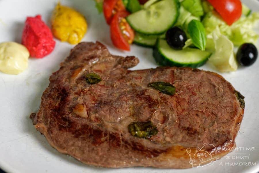 Hlavní fotka k receptu Hovězí steak – sous vide recept