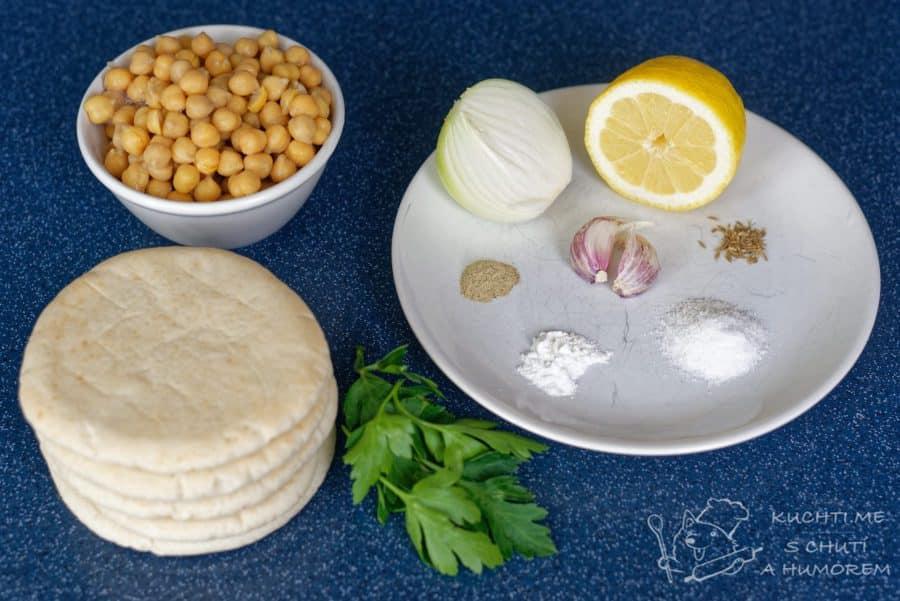 Falafel - ingredience