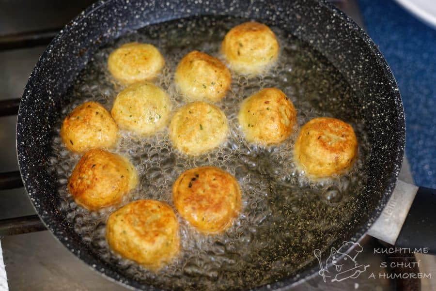 Falafel - smažíme do zlatova
