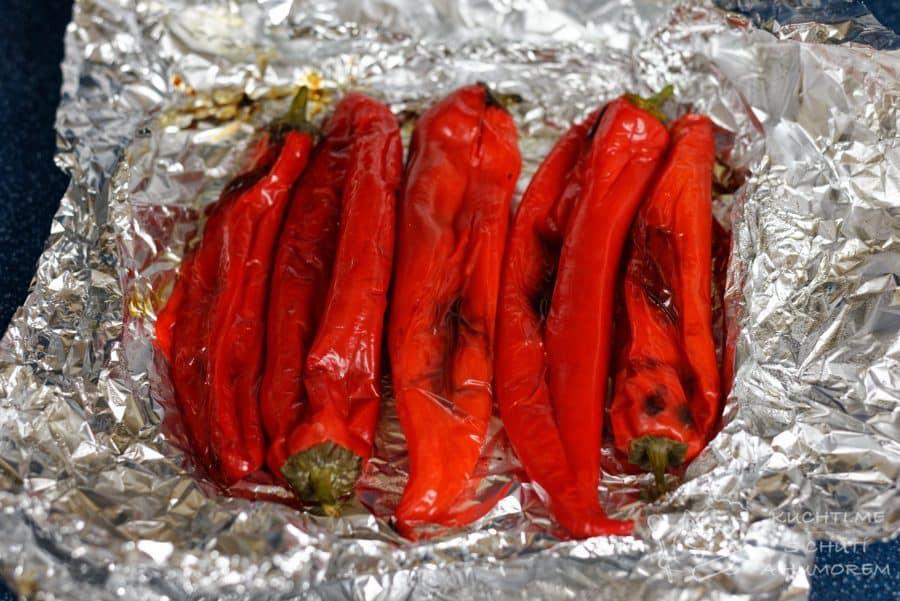 Dip z pečených paprik - opečené krasavice