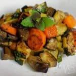 Zelenina připravená metodou sous vide