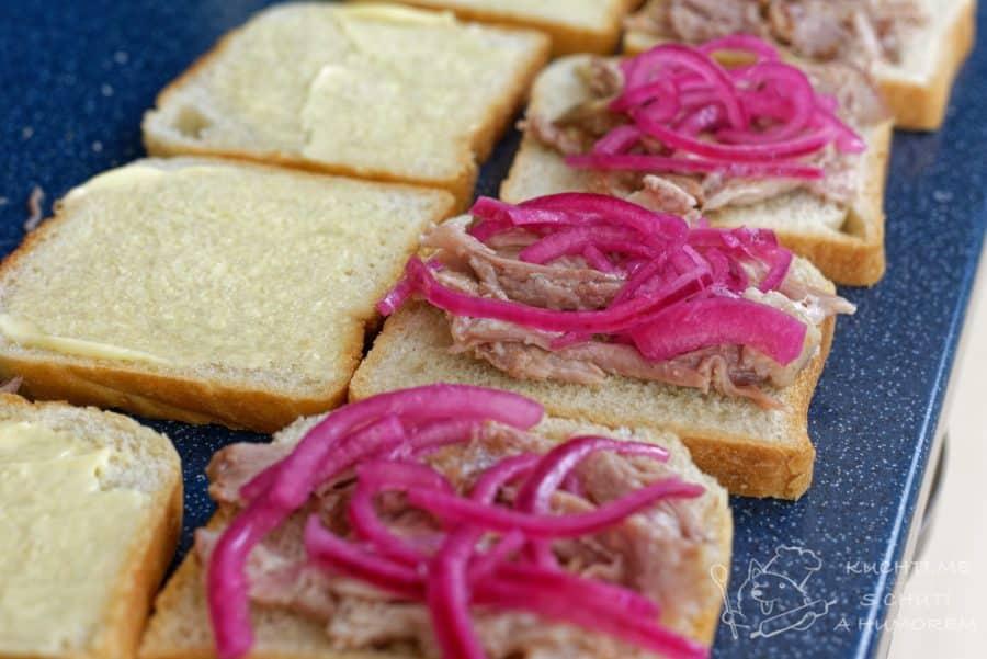 Trhané vepřové maso – úžasné jsou sandwiche