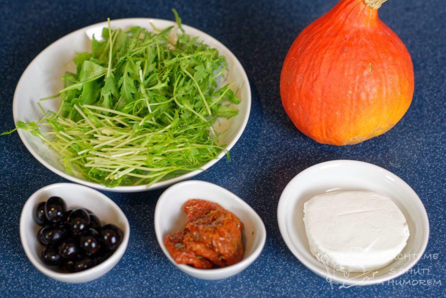 Dýňový salát - ingredience