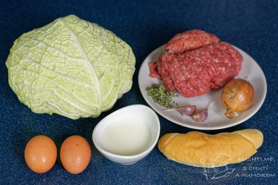 Kapustové karbanátky - ingredience